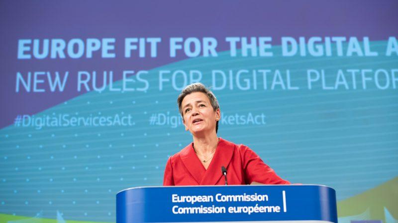 Wiceprzewodnicząca KE ds. cyfrowych Margrethe Vestager, źródło: EC - Audiovisual Service, European Union 2020, fot. Aurore Martignoni