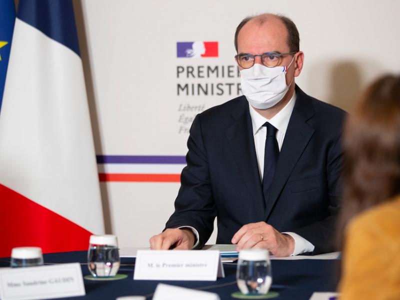 Premier Francji Jean Castex, źródło: Facebook/Jean Castex (@JCastexPM)