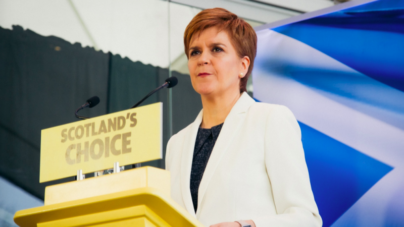 Premier Szkocji Nicola Sturgeon, źródło: Facebook/Scottish National Party (SNP)/@theSNP