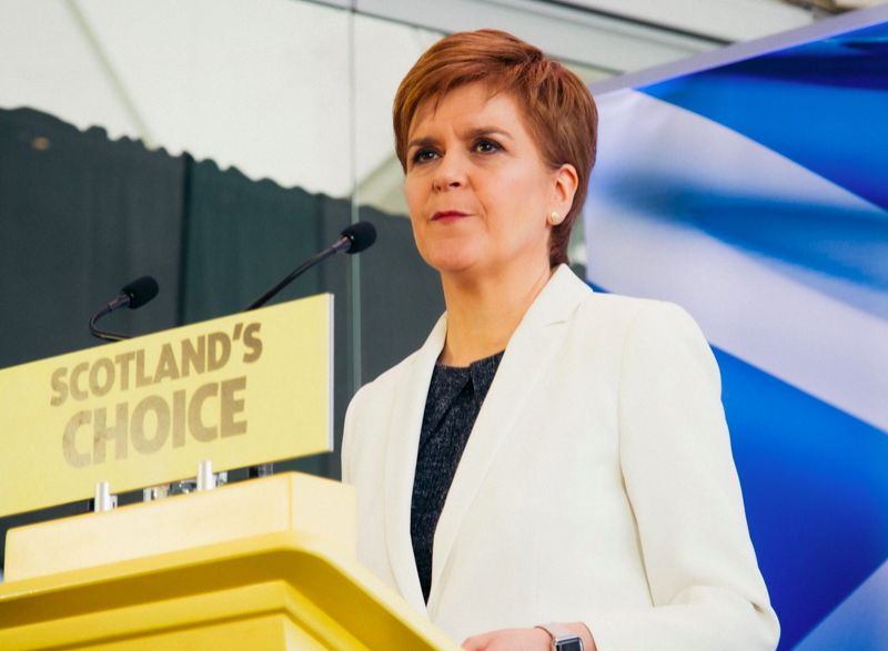 Premier Szkocji Nicola Sturgeon, źródło: Facebook/Scottish National Party (SNP)/@theSNP