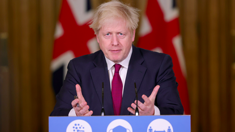 Premier Wielkiej Brytanii Boris Johnson ogłasza zaostrzenie lockdowny na okres Bożego Narodzenia, źródło: www.gov.uk