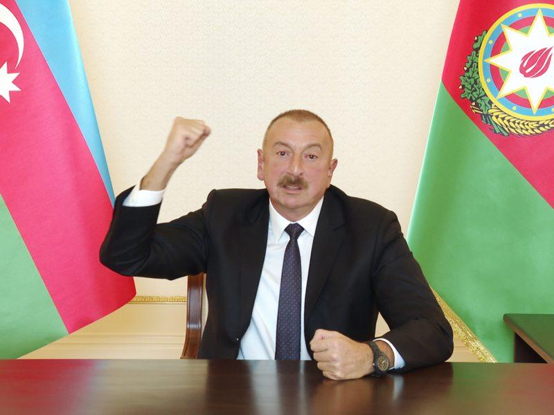 Prezydent Azerbejdżanu Ilham Alijew, źródło: President.az/The Presidential Press and Information Office's of Azerbaijan (CC BY 4.0)