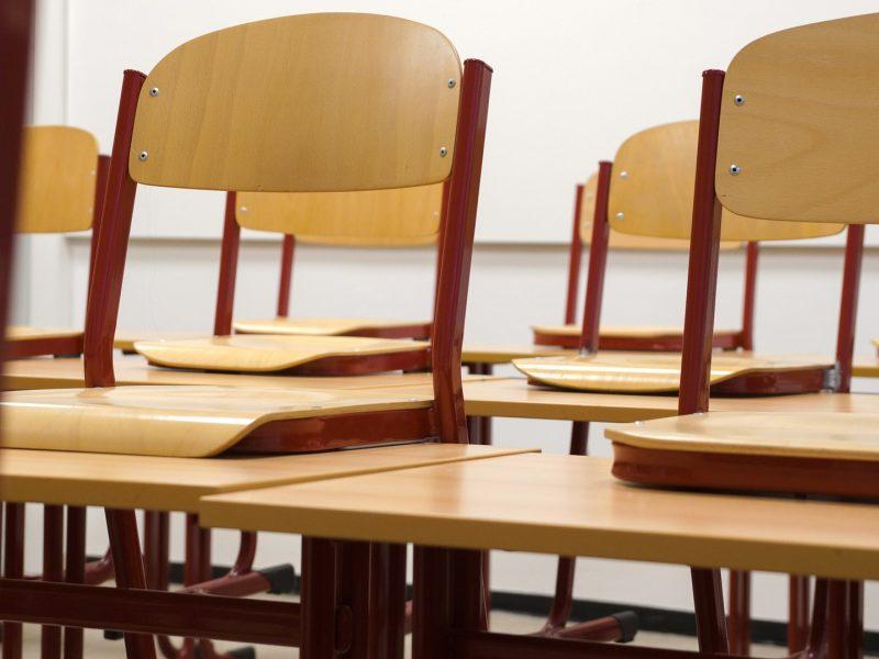 Klasa, krzesła