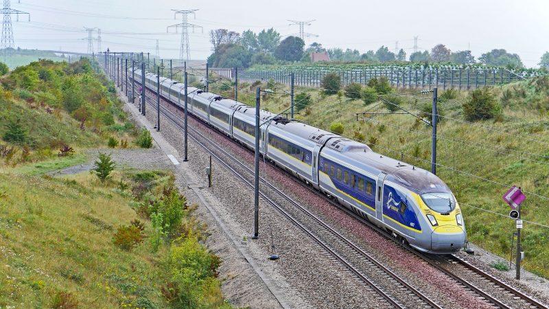pociąg, kanał La Manche