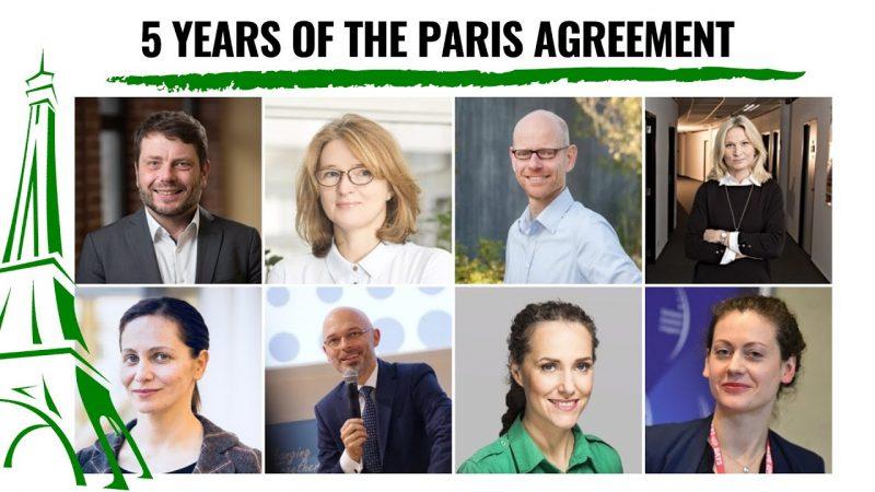 porozumienie paryskie, webinar, paneliści, zmiany klimatu