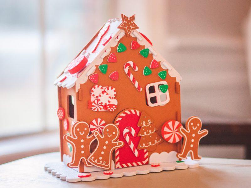 piernik, domek, Boże Narodzenie