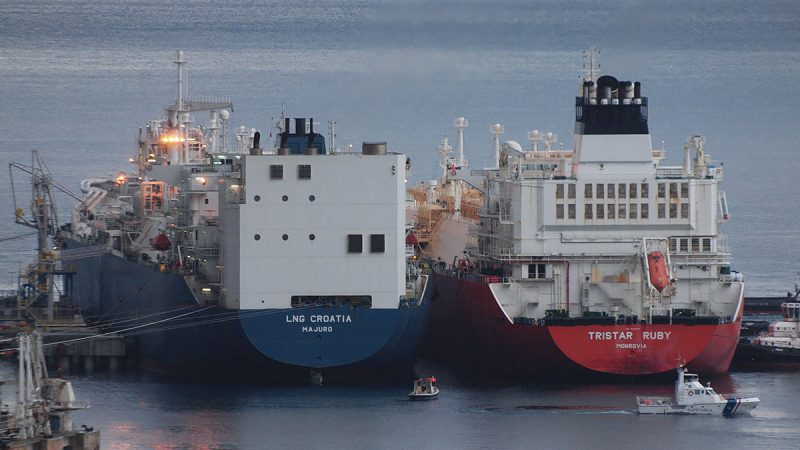 Chorwacja, Rosja, Gazprom, LNG,