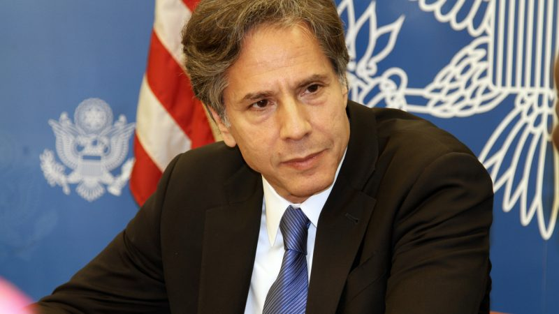 Antony Blinken, USA, sekretarz stanu