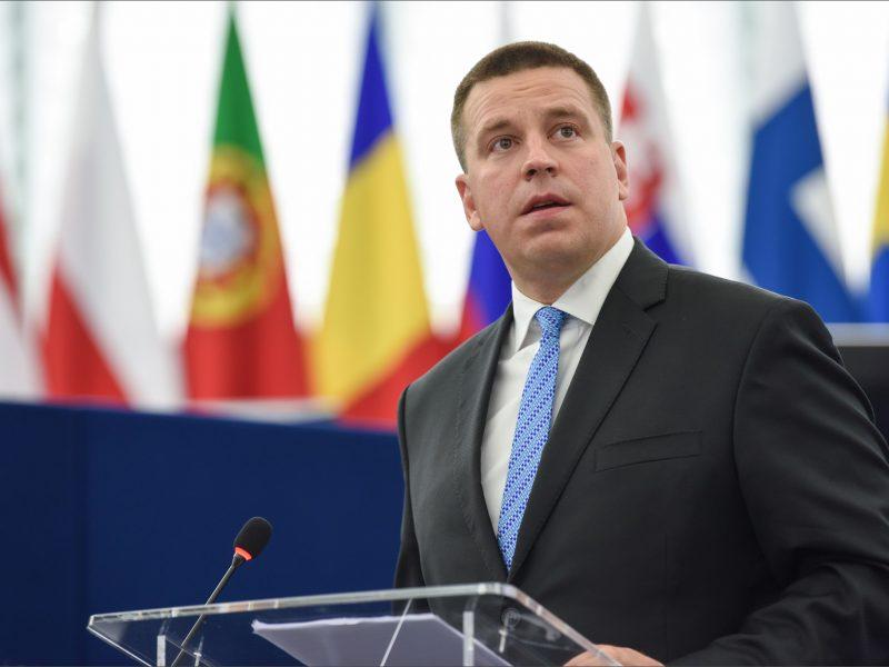 Premier Estonii Juri Ratas
