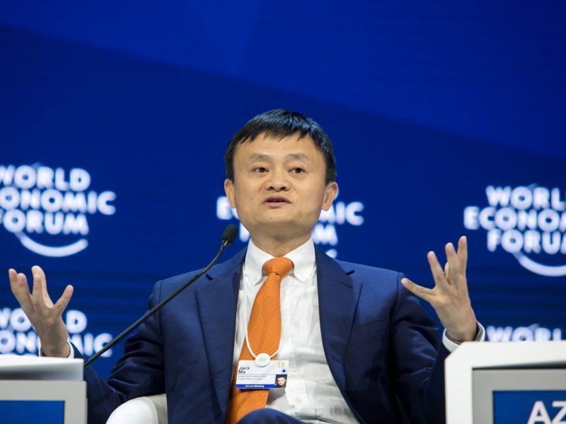 Jack Ma jest jednym z najbogatszych Chińczyków. Od ponad dwóch miesięcy nie pokazał się jednak publicznie, źródło: Flickr/World Economic Forum, fot. Ciaran McCrickard