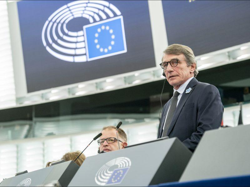 Parlament Europejski, David Sassoli