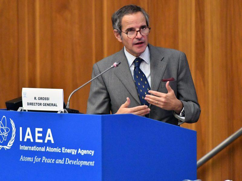 Rafael Grossi, Międzynarodowa Agencja Energii Atomowej, MAEA