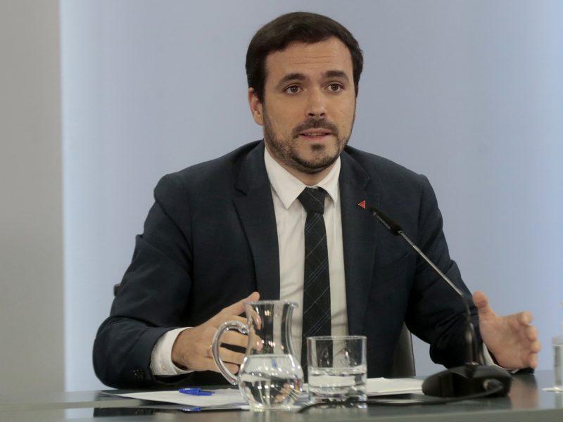 Hiszpania, Unia Europejska, energia, ceny, zima, Filomena, Alberto Garzon