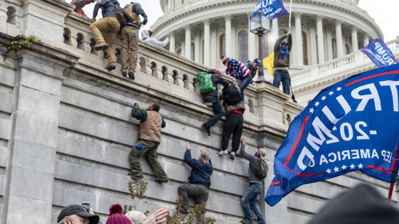 USA, Kapitol, zamieszki, Waszyngton