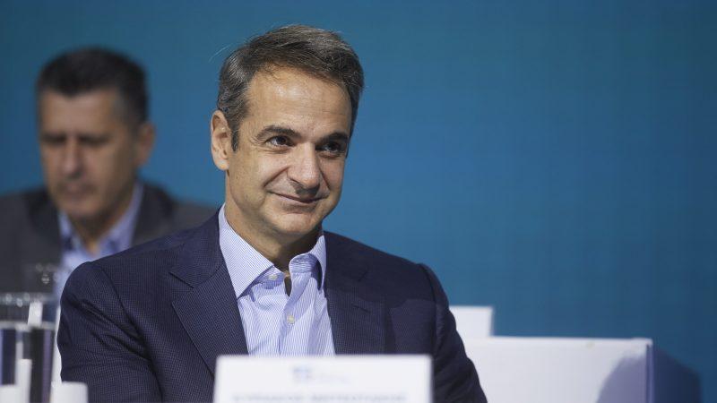 Kyriakos Mitsotakis, Grecja, szczepienia, pandemia