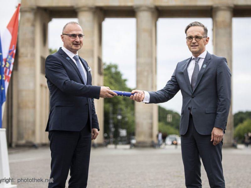 Niemcy, prezydencja, Rada UE, Chorwacja, niemiecka prezydencja w Radzie UE