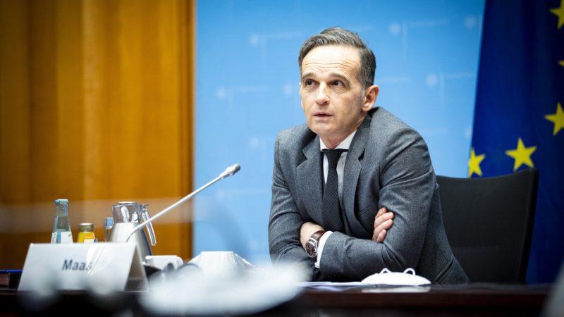 Heiko Maas, Niemcy, MSZ, minister