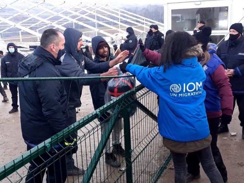 migranci, kryzys humanitarny, bośnia i hercegowinia