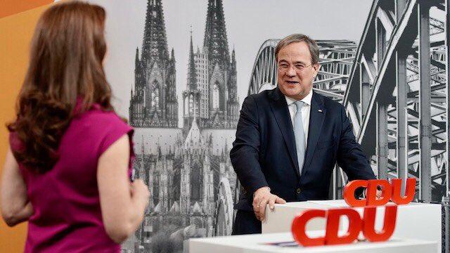 Niemcy, Merkel, Laschert, CDU, kanclerz