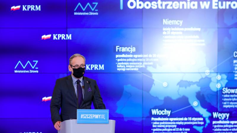 Minister zdrowia Adam Niedzielski, źródło: KPRM, fot. Adam Guz