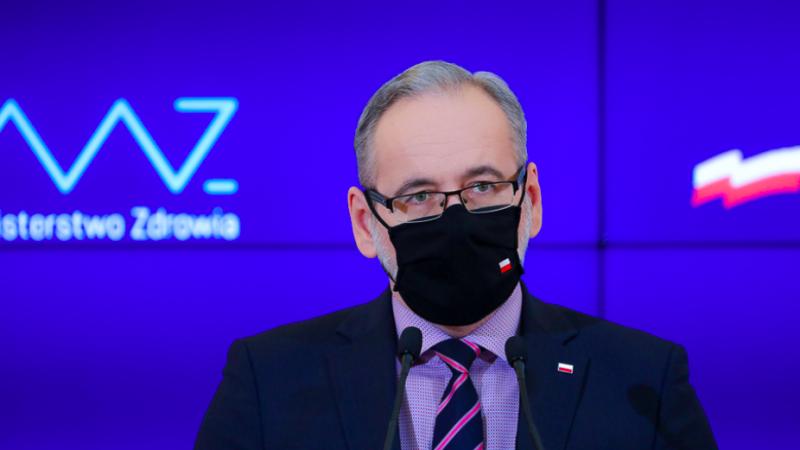 Minister zdrowia Adam Niedzielski ogłosił przedłużenie w Polsce przeciwepidemicznych obostrzeń do 14 lutego, fot. Adam Guz/KPRM