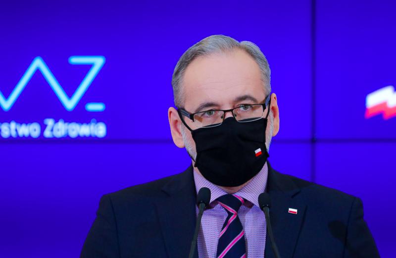 Minister zdrowia Adam Niedzielski, fot. Adam Guz/KPRM