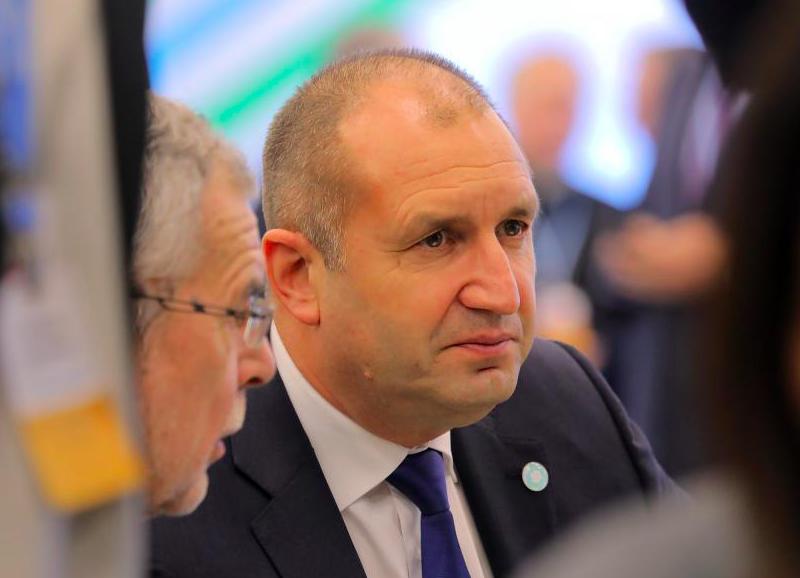 Prezydent Bułgarii Rumen Radew, źródło: Presidency of Bulgaria (CC BY 2.5)