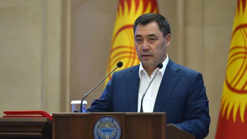 Prezydent-elekt Kirgistanu Sadyr Dżaparow, źródło: Twitter/Садыр Жапаров / Sadyr Zhaparov (@SadyrJaparov)