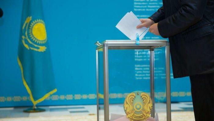 Wybory w Kazachstanie wygrała ponownie rządząca ponad dwie dekady partia Nur Otan, źródło: Twitter/MFA Kazakhstan Flaga Kazachstanu (@MFA_KZ)