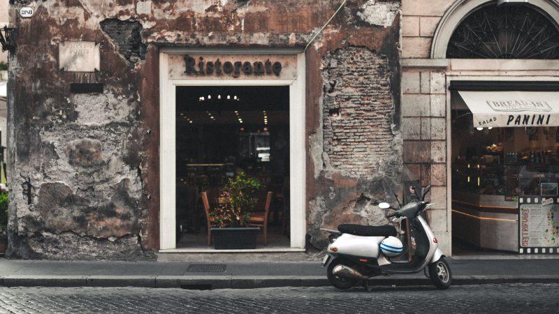 restauracja, Rzym, Włochy