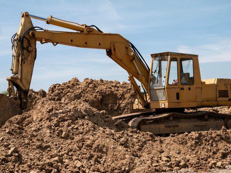UE, odpady, plac budowy, ziemia