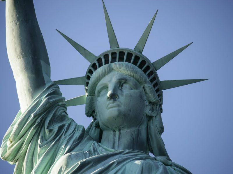 USA, Statua Wolności, Stany Zjednoczone, populizm, Reiter, Trump, Biden