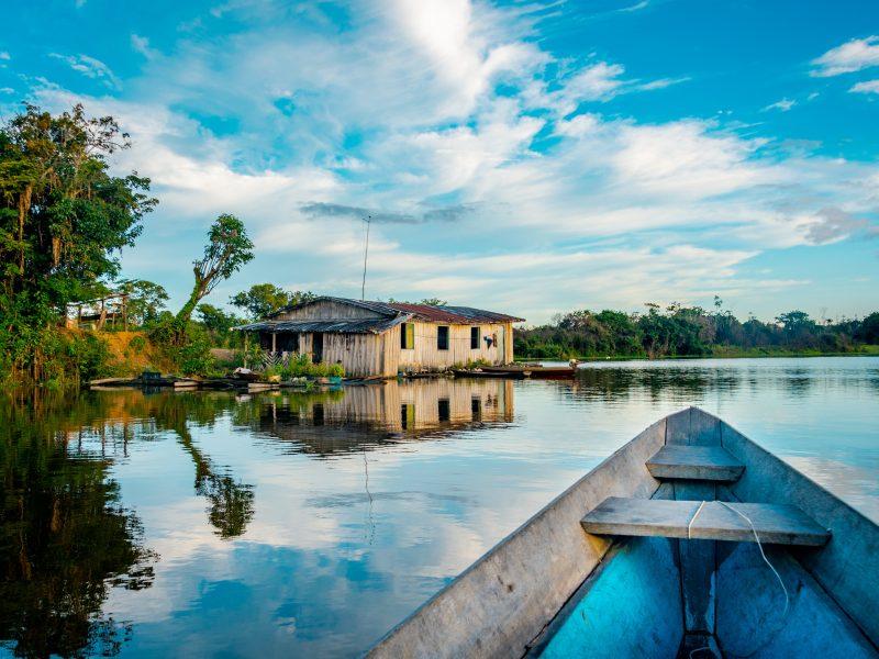 Sytuacja epidemiczna w odległym od reszty Brazylii stanie Amazonas jest obecnie najtrudniejsza (Photo by Sébastien Goldberg on Unsplash)