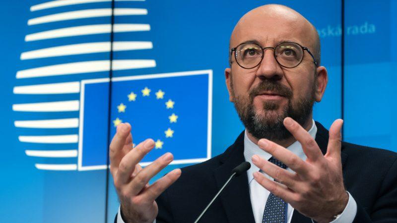 Charles Michel, Rada Europejska, przewodniczący, Unia Europejska