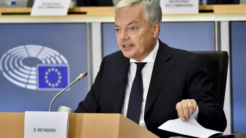 Polska, Węgry, praworządność, unijny komisarz do spraw sprawiedliwości Didier Reynders, Komisja Europejska, Chorwacja, pandemia, koronawirus, COVID19, rządy prawa
