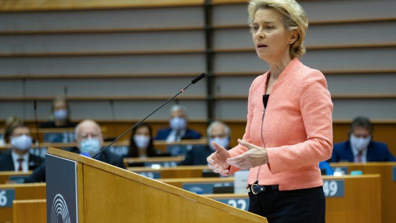 Parlament Europejski, pandemia, COVID, debata, COVID19, Ursula von der Leyen, Komisja Europejska, koncerny farmaceutyczne