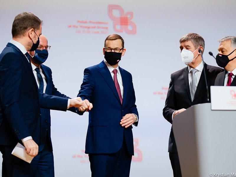 pandemia, koronawirus, COVID19grupa-wyszehradzka-polska-v4-wegry-unia-europejska-krajowy-plan-odbudowy-ekologia-klimat-morawiecki-orban