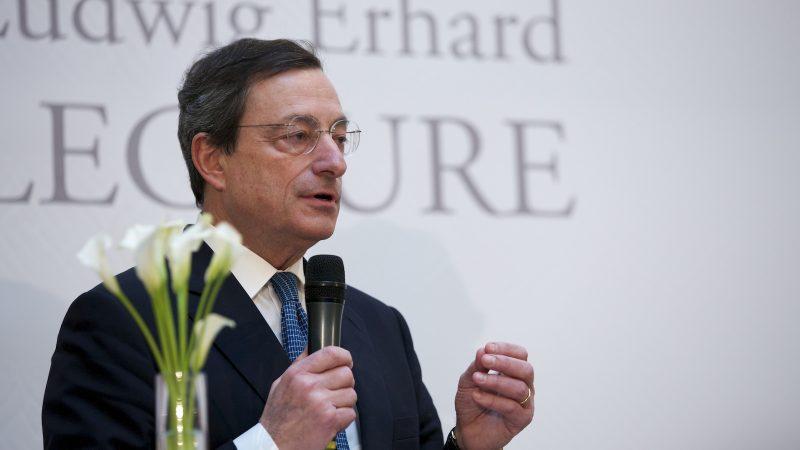Mario Draghi, Europejski Bank Centralny, Włochy