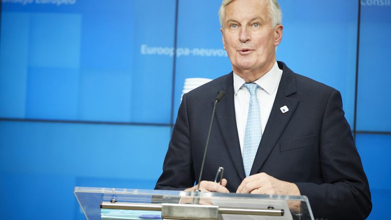 Michel Barnier, Francja, brexit