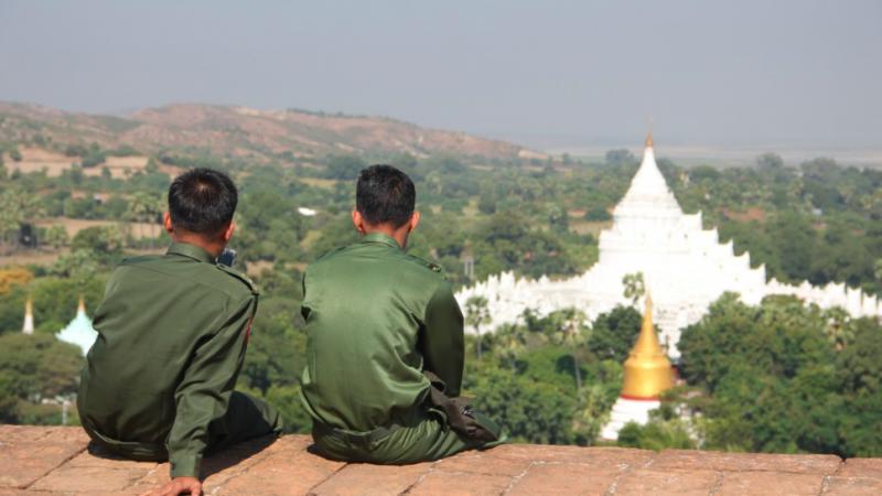 Armia to w Birmie to bardzo potężna struktura, która dominuje nad wieloma aspektami życia, źródło: pxhere (CC0 Public Domain)