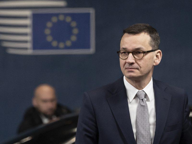 Mateusz Morawiecki, Polska, premier
