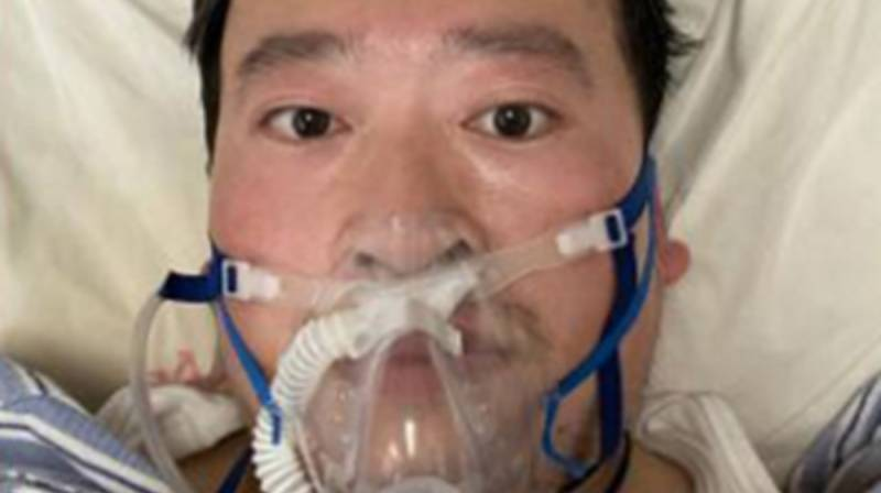 Doktor Li Wenliang, Chiny, koronawirus, pandemia, COVID19, Wuhan, SARS-CoV-2. WHO