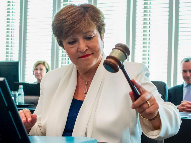 Dyrektor zarządzająca Międzynarodowego Funduszu Walutowego Kristalina Gieorgijewa, źródło: Flickr/International Monetary Fund (CC BY-NC-ND 2.0)