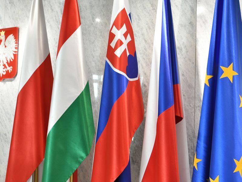 V4, Grupa Wyszehradzka, Polska, Czechy, Słowacja, Węgry, Unia Europejska, Wyszehrad, Duda, Orban, Morawiecki