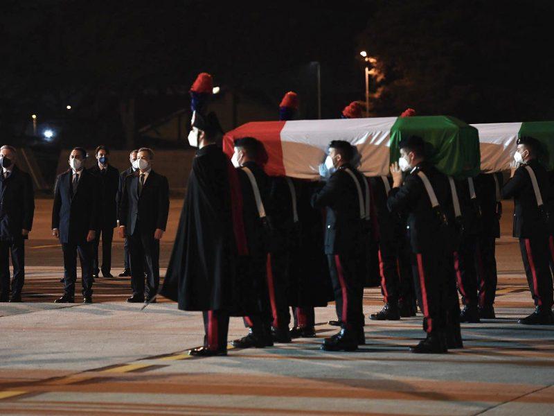 trumny, Rzym, lotnisko, Luca Attanasio, Vittorio Iacovacci, Włochy, atak, Demokratyczna Republika Konga