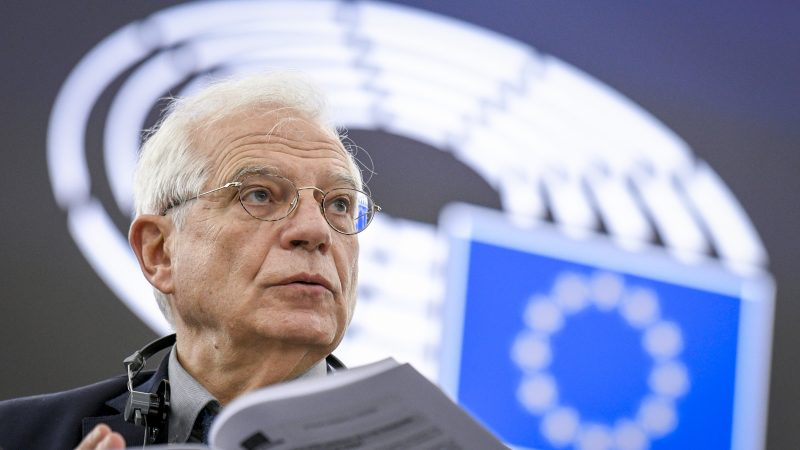Josep Borrell, UE