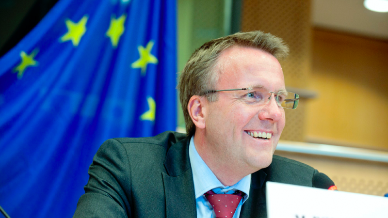 MInister finansów Danii Morten Bodskov, © European Union 2012 - European Parliament (NonCommercial-NoDerivs Creative Commons license)