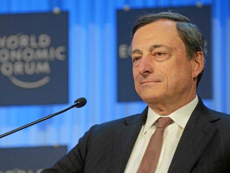 Mario Draghi, Włochy, Europejski Bank Centralny