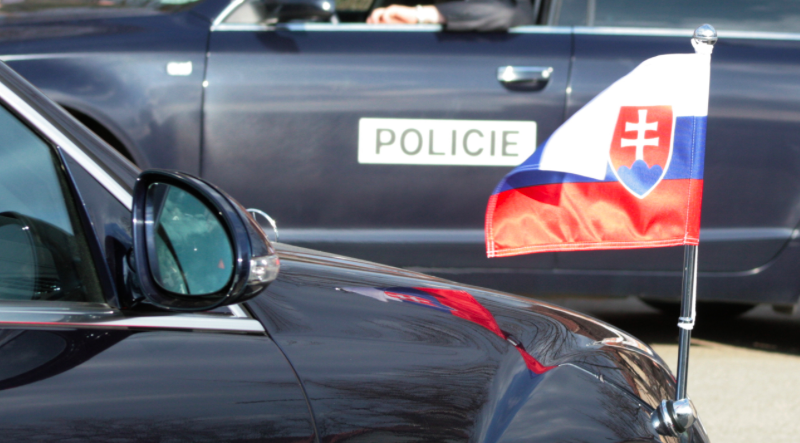 Policja na Słowacji dokonała w ciągu roku wielu zatrzymań w śledztwach korupcyjnych, źródło: Wikipedia, fot. Bazi (CC BY-SA 3.0)