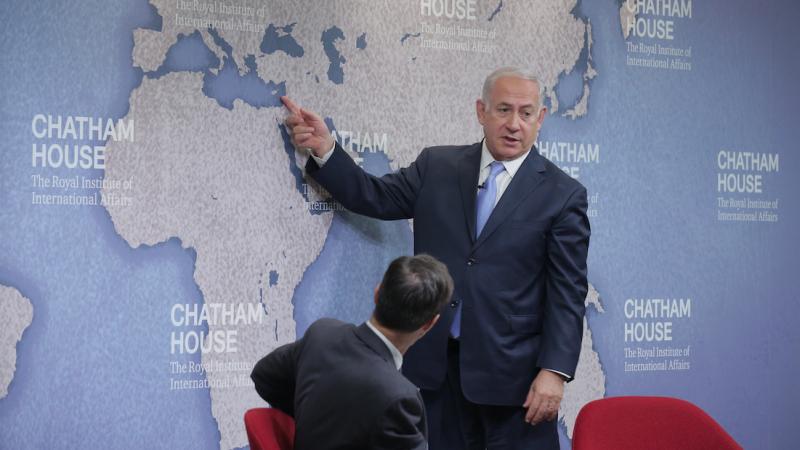 Premier Izraela Benjamin Netanjahu, źródło: Flickr/Chatham House (CC BY 2.0)
